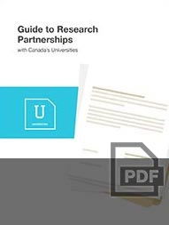 Download Guide to Research Partnerships with Canada Universities