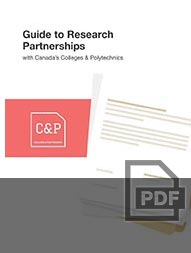 Download Guide to Research Partnerships with Canada Colleges and Polytechnics