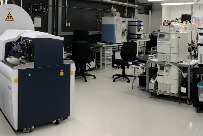 Research infrastructure in the lab
