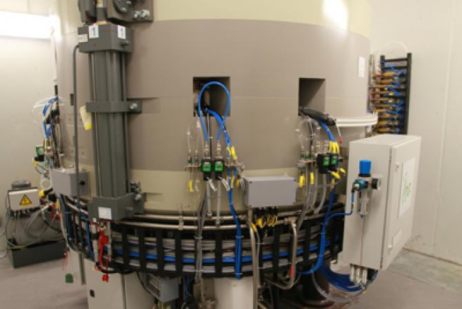 Research infrastructure - cyclotron