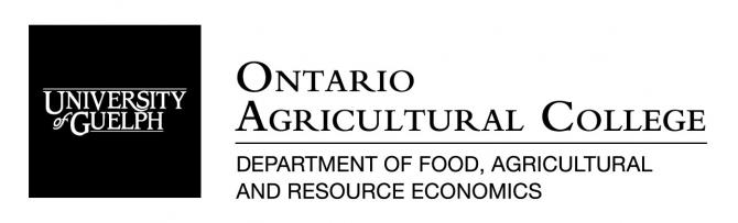 University of Guelph - Ontario Agricultural College - Department of Food, Agricultural and Resource Economics