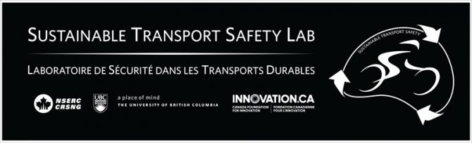 Sustainable Transport Safety Lab - NSERC, The University of British Columbia, Innovation.ca / The Canada Foundation for Innovation