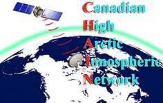 CHAIN-Canadian High Arctic Atmospheric Network