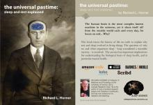Book cover: The Universal Pastime: Sleep and Rest Explained