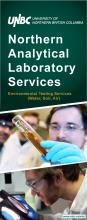 UNBC-Northern Analytical Laboratory Services-Environmental Testing Services (Water, Soil, Air)