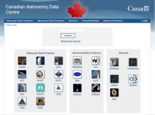 Screen capture of the English website
